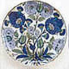 Selcuk And Ottoman Pottery, Rimless Shallow Dish, Homayzi Collection