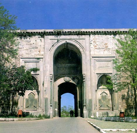 The Imperial Gate, Topkapi Palace