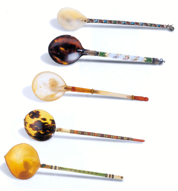 Spoons From The Ottoman Court