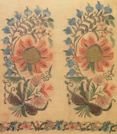 Embroidery, 2nd Half Of The 18th Century