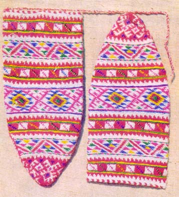 Knitted Socks, Apple Pattern, Black Sea Region