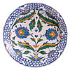 Dish Iznik, Later 16th Century