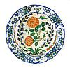 Polychrome Plate Iznik c. 1570-80