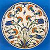 Polychrome Plate Iznik c. 1575