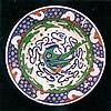 Polychrome Plate Iznik c. 1585