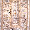 Floral Motifs In Tiles