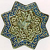 Tile Seljuk Second Half Of 13th Century