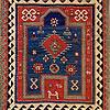 Southwestern Caucasia Prayer Rug