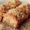 Baklava with waltut