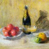A still life, 52 x 70 cm, pastel on cardboard, The Museum of Painting and Sculpture in Ankara