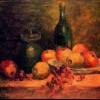 A still life, oil on canvas, 34 x 45.5 cm, private collection
