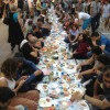 Iftar on the Istiklal street, Istanbul