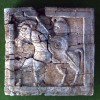 Phrygian cavalryman as depicted on an ivory plaque, Gordion