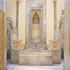 Hot room of the Sultans bath in the Harem