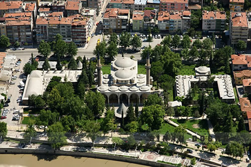 The waqf complex of Bayezid II in Amasya