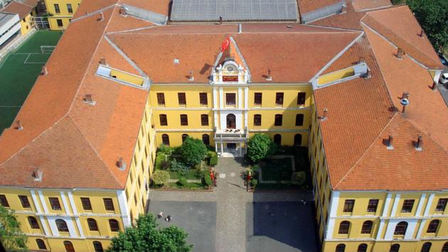 A view of Galatasaray High School