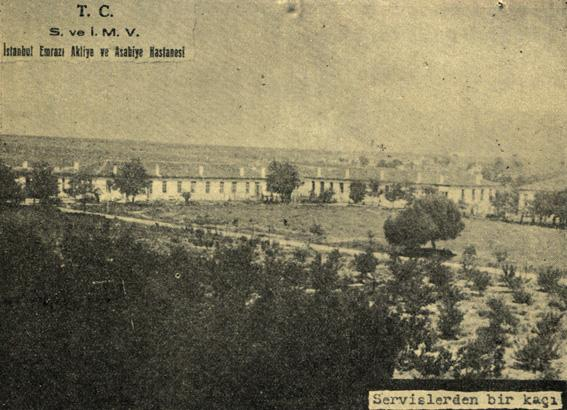 Services in Bakırköy Mental Hospital. Late 1920s-early 1930s.