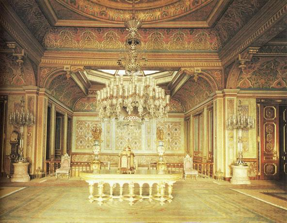 The Mother of Pearl Room at Beylerbeyi Palace