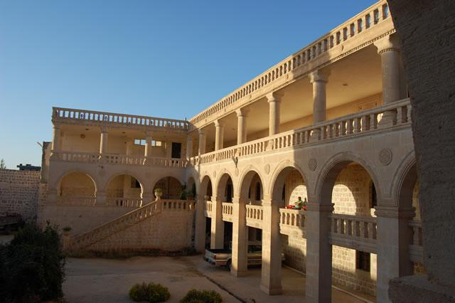 Recently built annex in the monastery of Mor Yaqub at Salah