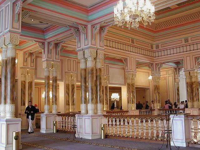 Second floor of Ciragan Palace