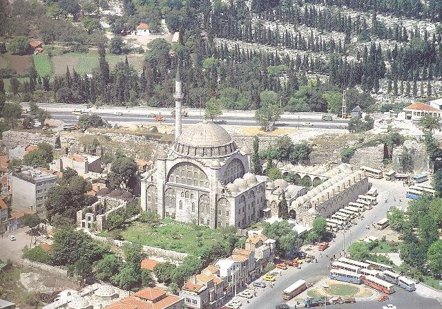 The Mihrimah Sultan Mosque 1562-1565 Edirnekapi Istanbul