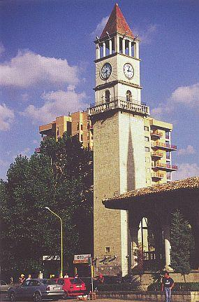 Clock Tower In Tiran, Albania