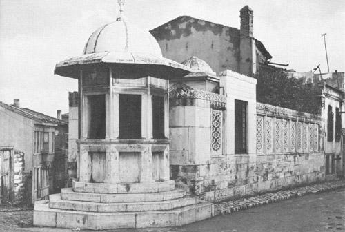 Sinans Tomb And Fountain, Istanbul