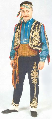 Local Costumes, Cankiri, Man