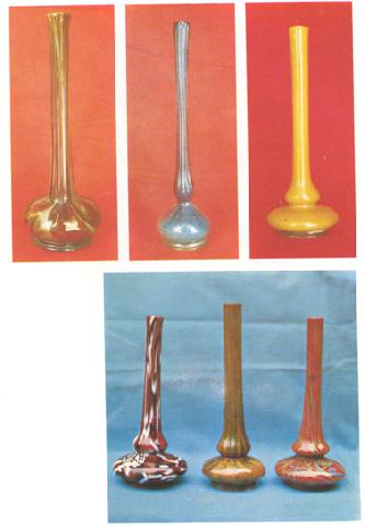 Glass Art, (Laledan) Vases For Tulips