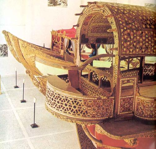 Sultans Kayik Stern,  Military Naval Museum