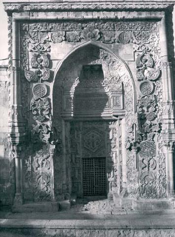 Stone Carving, North Portal Of The Great Mosque