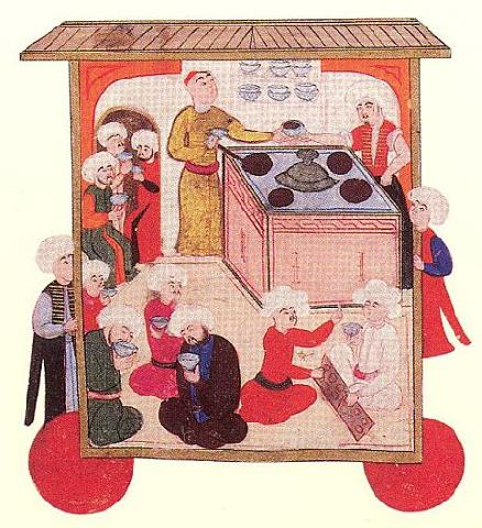 Coffee House in 1582