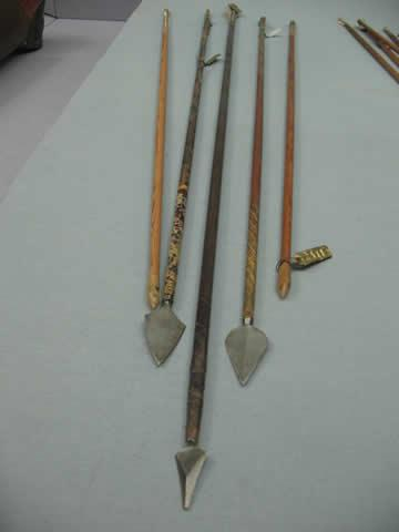 A variety of arrows