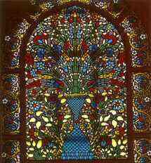 Stained Glass Window, Semsi Pasha Mosque