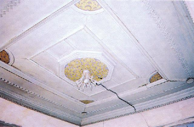 Ceiling in the Basoda