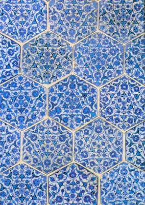 Panel Of Hexagonal Tiles