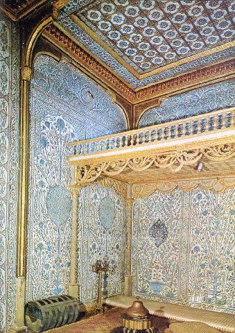 Bedroom on Mother Sultan S Bedroom At Topkapi Place Harem