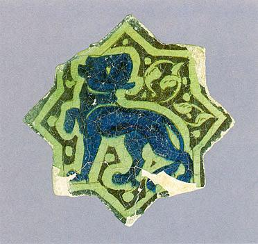 Tile Seljuk First Half Of The 13th Century