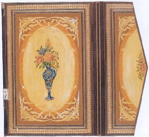 Floral Motifs in Bookbinding