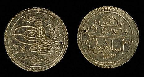 Coinage, Gold Coin Of Mahmud I