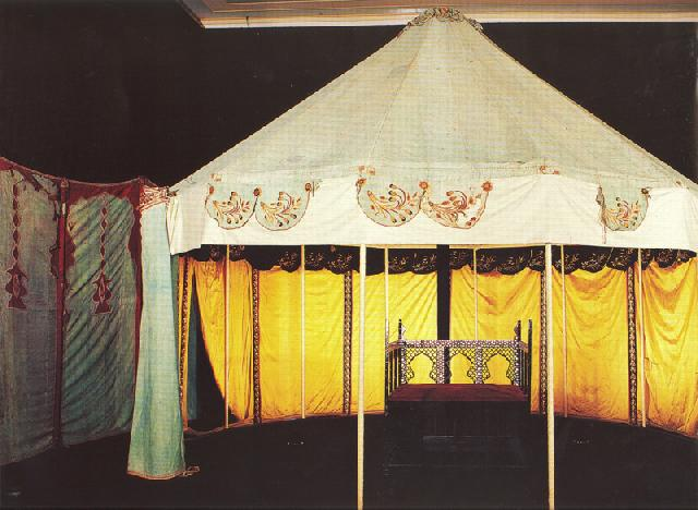 Single Columned Tent, Late 19th Century