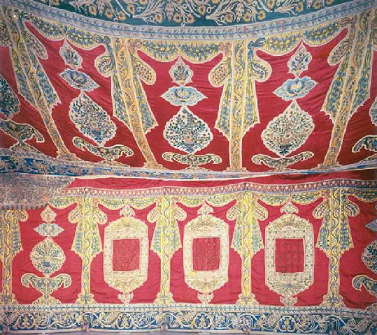Inside Of Ottoman Tent, Belonging Mahmud II