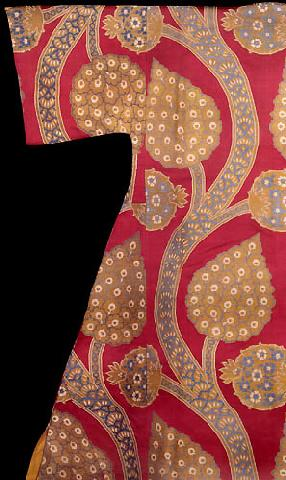 Flowers In Fabrics And Garments, Caftan Of Sultan Mahmud I