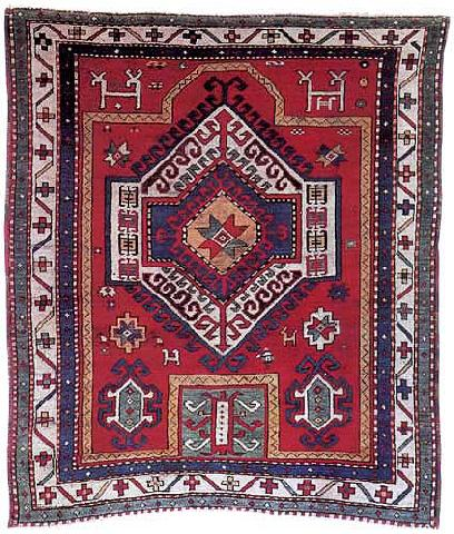 Kazak Prayer Carpet