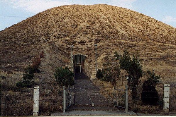Entrance to Tumulus MM, Gordion