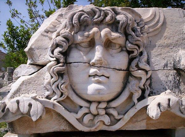 The head of Medusa, Didyma