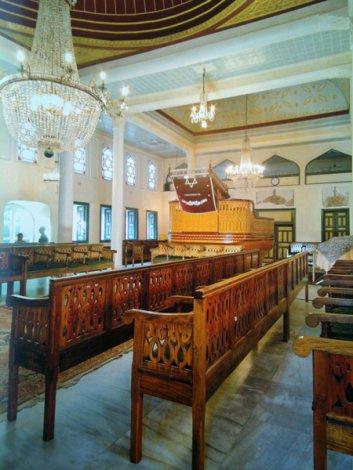 Interior view, Ahrida Synagogue
