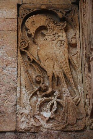 Heraldic bird from the West portal, the Divrigi Great Mosque