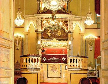 Interior view, Hasköy Maalem Synagogue
