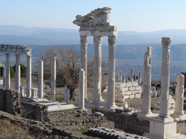 Pergamon, Temple of Trajan